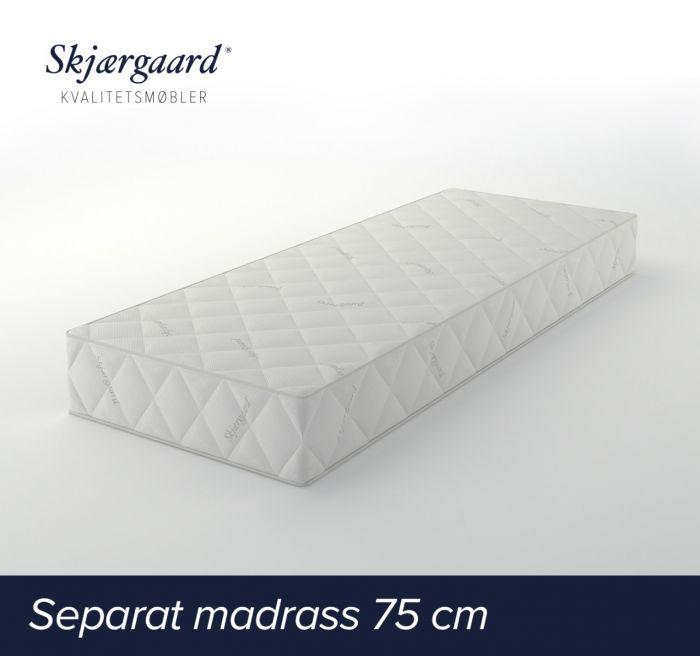 Separat Comfort hovedmadrass 75x200x21 fast