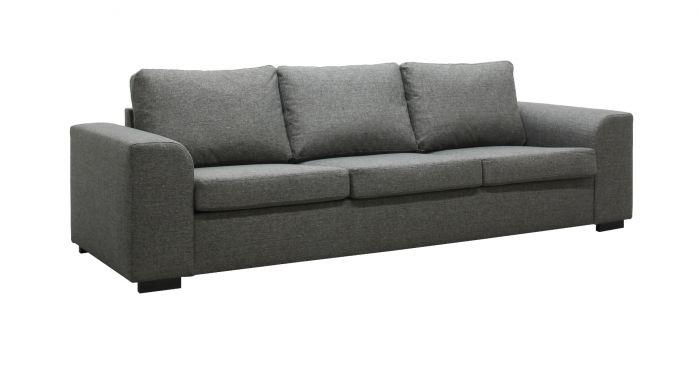 Tyrifjorden 3-seter sofa - mørk grå