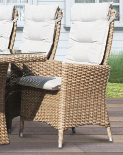 Comfort/Holiday lænestol m/puter - naturmix