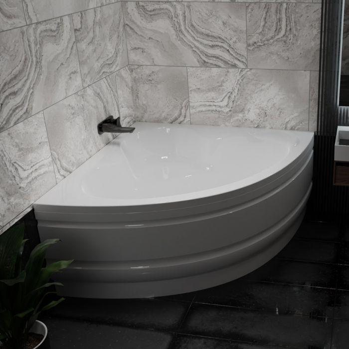 Waterlux Kalabria hjørnebadekar 120x120 cm
