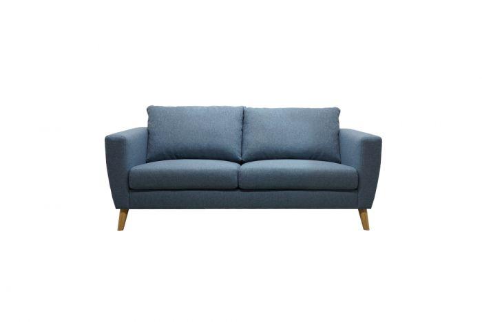 Kragerø 2-seter sofa - sjøblå