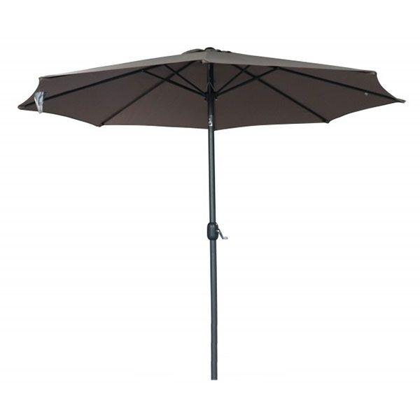 Heaven parasol diameter 300 cm i grå