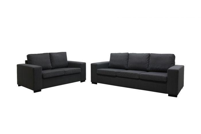 Søvik 3 og 2-seter sofa - antrasitt