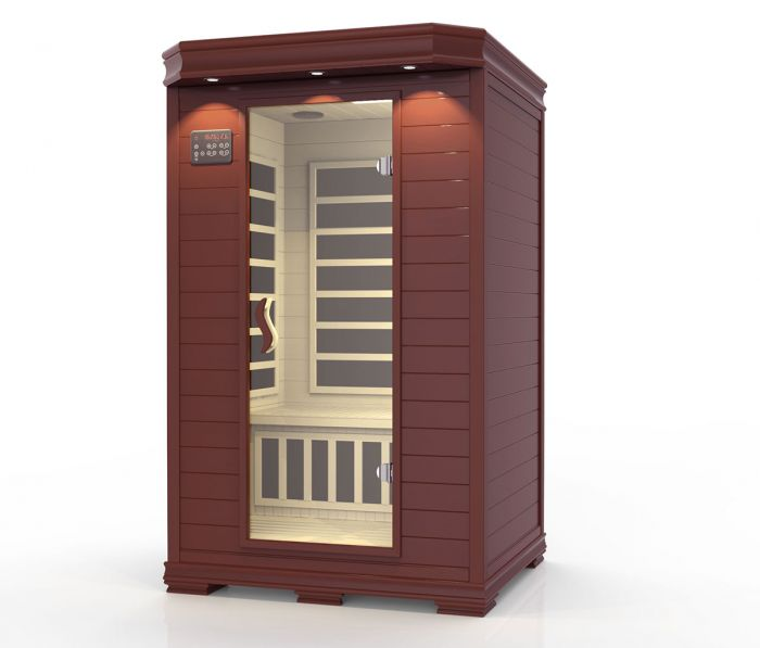 Ideal sauna mørk - 2 personer