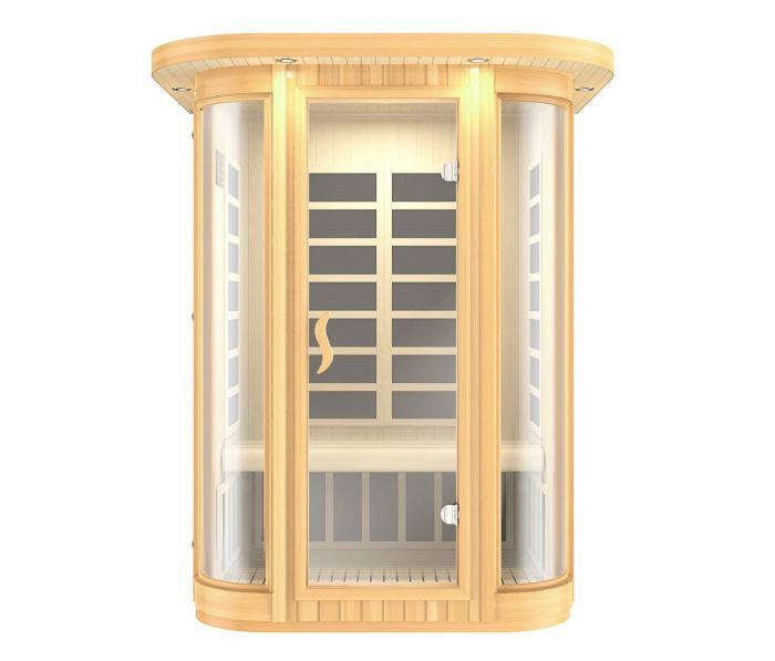 Luna sauna lys - 2 personer