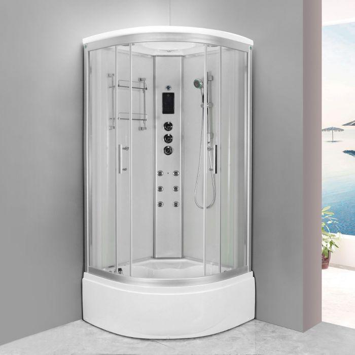 Svanen dampkabine m/badekar