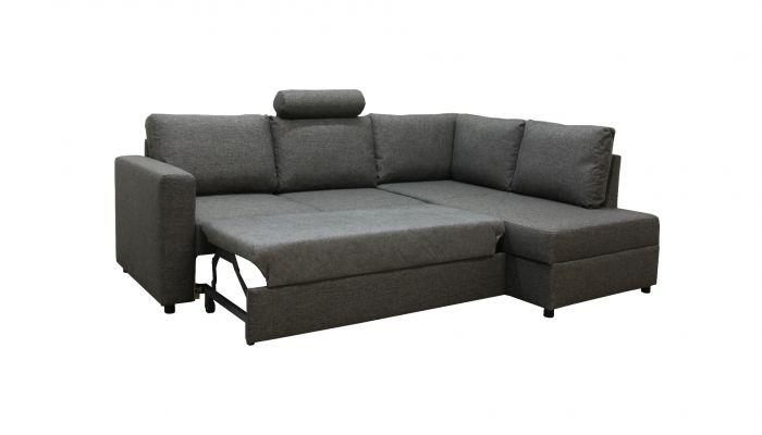 Svelvik sovesofa 3A - mørk grå