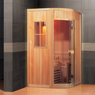 Askeladden traditionel sauna, 2 personer