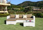 Moonlight Relax loungesæt - hvid polyrattan