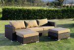 Moonlight Relax loungesæt - brunmix polyrattan