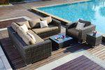 Moonlight Living loungesæt I gråmix polyrattan