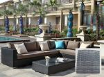 Moonlight Dream Elite loungesæt - gråmix polyrattan