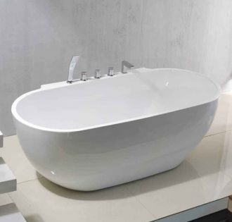 Relax fritstående badekar 170 cm