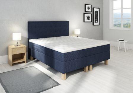 Comfort kontinentalseng 180x200 - mørk blå