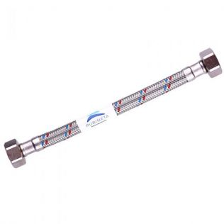 """Fleksible trykslanger 50 cm FF 1/2"""" x 2"""