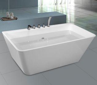 Comfort fritstående badekar 170 cm
