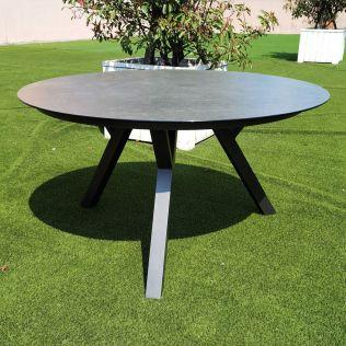 Jamaica rundt spisebord ø150 cm i aluminium, antracit