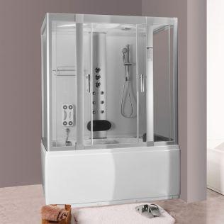Michelle 2 massagekabine/badekar - uden strøm - 160x85 hvid