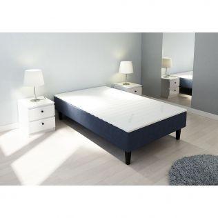 Rammemadrass 120x200, mørk blå