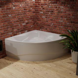 Waterlux Sevilla hjørnebadekar 130x130