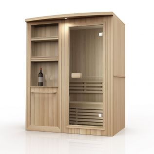 Jerv 2 traditionel sauna - 2 personer
